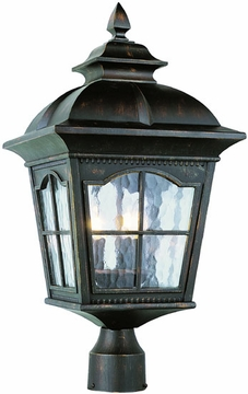 """22.5"""" Outdoor Lamp Post By Trans Globe - 5422"""