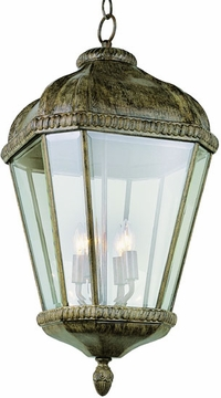 "25.75"" Outdoor Hanging Lighting Fixture By Trans Globe - Rust 5156BRT"