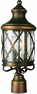 "26.5"" Outdoor Post Light By Trans Globe - Victorian 5125"