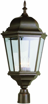 """26.75"""" Post Light Fixture By Trans Globe - Traditional 51001"""