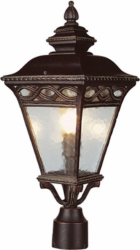 """26"""" Outdoor Lighting Post Lamp By Trans Globe - 50514"""