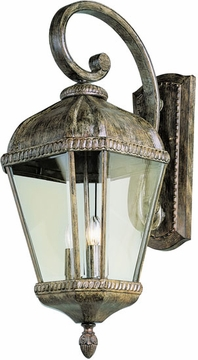 "27"" Exterior Light Sconce By Trans Globe - Rust 5151BRT"