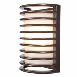 "Access Bermuda 10.5"" Outdoor Wall Lamp - Bronze 20010MG-BRZ-RFR"