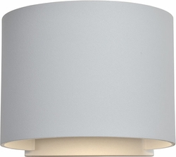 "Access Curve LED 4.4"" Exterior Wall Sconce - White 20399LEDMGRND-WH"