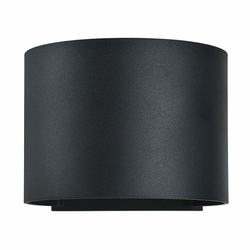 "Access Curve LED 4.4"" Outdoor Wall Light - Black 20399LEDMGRND-BL"