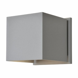 "Access Square LED 4.25"" Outdoor Wall Sconce - Satin 20399LEDMG-SAT"