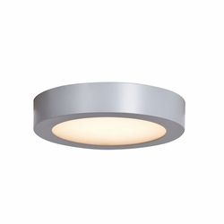 "Access Ulko LED 7"" Flush Mount Outdoor Light - Silver 20071LEDD-SILV-ACR"