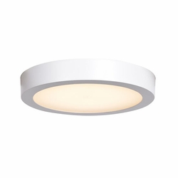 "Access Ulko LED 9"" Outdoor Ceiling Lighting - White 20072LEDD-WH-ACR"