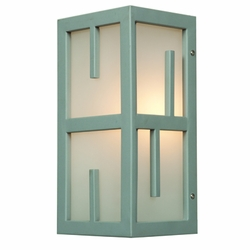 "Access Zen 12"" Outdoor Wall Sconce - Satin 20376MG-SAT-FST"