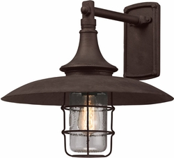 "Allegheny 15.5"" Exterior Wall Sconce By Troy - Rust B3222"