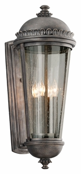 "Ambassador 27.5"" Outdoor Wall Light By Troy - Pewter B3564"