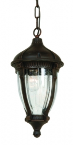"Anapolis 31"" Outdoor Pendant Light Fixture By Artcraft - Bronze AC8595OB"