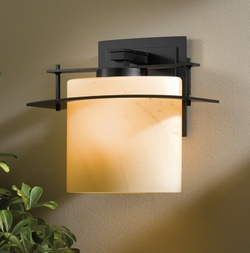 """Arc Ellipse 11"""" Exterior Wall Lighting Fixture By Hubbardton Forge - Contemporary"""