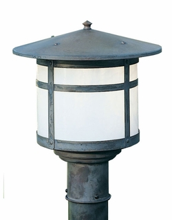 "Arroyo Craftsman Berkeley 11.125"" Outdoor Post Lamp"
