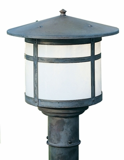 "Arroyo Craftsman Berkeley 13.25"" Outdoor Post Lighting Fixture"