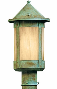 "Arroyo Craftsman Berkeley 13.625"" Outdoor Post Lighting Fixture"