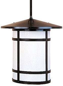 "Arroyo Craftsman Berkeley 17.875"" Outdoor Pendant Lighting Fixture"