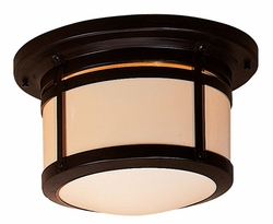 "Arroyo Craftsman Berkeley 8.5"" Outdoor Flush Mount Light"