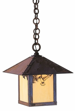 "Arroyo Craftsman Evergreen 13.625"" Outdoor Hanging Light"