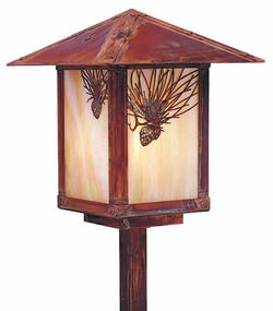 "Arroyo Craftsman Evergreen 21.5"" Outdoor Path Lighting Fixture"