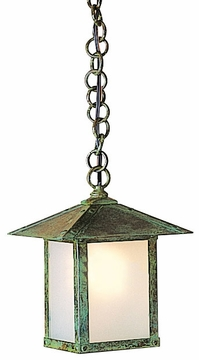 "Arroyo Craftsman Evergreen 9.5"" Outdoor Ceiling Lighting Fixture - Craftsman"