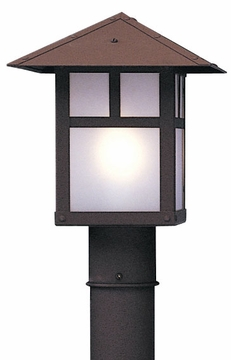 "Arroyo Craftsman Evergreen 9.75"" Outdoor Post Lamp"