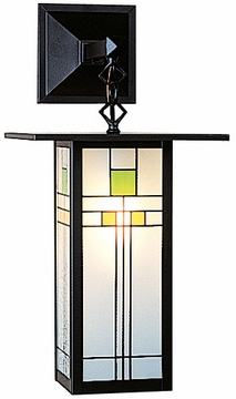 "Arroyo Craftsman Franklin 19.125"" Outdoor Wall Lantern - Craftsman"