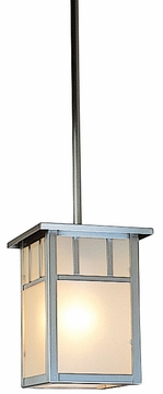 "Arroyo Craftsman Huntington 6.5"" Outdoor Hanging Lantern - Craftsman"