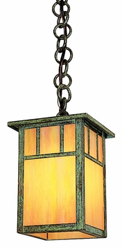 "Arroyo Craftsman Huntington 7.625"" Outdoor Pendant Light - Craftsman"