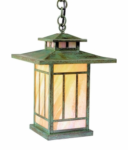 "Arroyo Craftsman Kennebec 12.25"" Outdoor Pendant Light"
