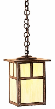 "Arroyo Craftsman Mission 10.25"" Outdoor Lighting Pendant - Craftsman"