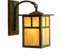 """Arroyo Craftsman Mission 11.625"""" Outdoor Wall Sconce - Craftsman"""