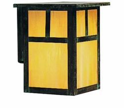 "Arroyo Craftsman Mission 12"" Exterior Wall Lighting Fixture - Craftsman"