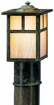"Arroyo Craftsman Mission 6.75"" Outdoor Post Light - Craftsman"