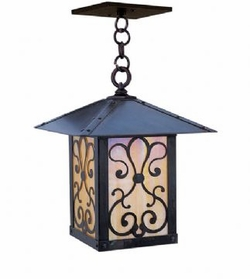 "Arroyo Craftsman Timber Ridge 12"" Outdoor Pendant"
