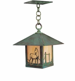 "Arroyo Craftsman Timber Ridge 12"" Outdoor Pendant Lighting Fixture"