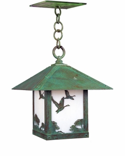 "Arroyo Craftsman Timber Ridge 13.5"" Outdoor Pendant Light"