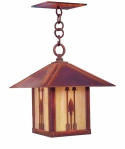 "Arroyo Craftsman Timber Ridge 13.5"" Outdoor Pendant Lighting Fixture"