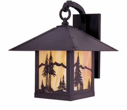"Arroyo Craftsman Timber Ridge 15"" Outdoor Wall Lighting Fixture"