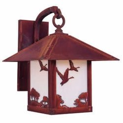 "Arroyo Craftsman Timber Ridge 19.5"" Exterior Wall Lighting Fixture"