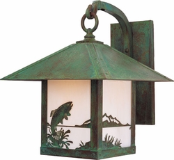 "Arroyo Craftsman Timber Ridge 19.5"" Exterior Wall Sconce"