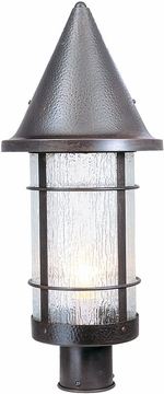 "Arroyo Craftsman Valencia 24.75"" Outdoor Post Lighting Fixture - Nautical"