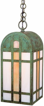"Arroyo Craftsman Yorktown 17"" Outdoor Pendant Light - Craftsman"