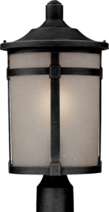 "Artcraft St. Moritz 18.6"" Outdoor Post Lighting Fixture - AC8643"