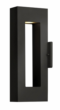 "Atlantis 16"" Dark Sky Exterior Wall Light By Hinkley - Contemporary 1640SK"