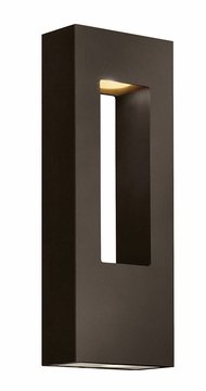 "Atlantis 16"" Dark Sky Outdoor Wall Lighting Fixture By Hinkley - Contemporary 1648BZ"