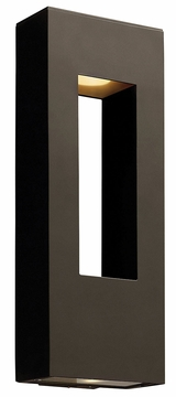 "Atlantis 24"" Dark Sky Outdoor Lighting Sconce By Hinkley - Contemporary 1649BZ"