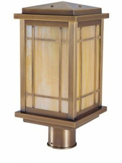 "Avenue 12.75"" Outdoor Post Light By Arroyo Craftsman"