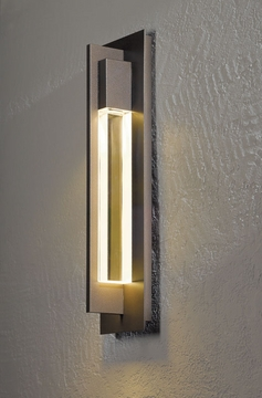 "Axis 19"" Outdoor Wall Mount By Hubbardton Forge - Contemporary 306403"