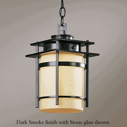 "Banded 12.6"" Outdoor Pendant Lighting Fixture By Hubbardton Forge"
